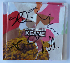 KEANE Cause and Effect - HAND SIGNED / AUTOGRAPHED limited deluxe CD -MINT (3/3)