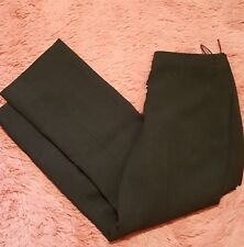 Pret A Porter Sz 12 Dress Pants Straight Leg Trousers Women Career Flat Front
