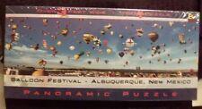 New in Box BG Panoramic Puzzle Balloon Festival - Albuquerque, NM
