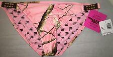 Women's Realtree Girl Pink Camo Camouflage Bikini Bottoms Size L Large NWT New