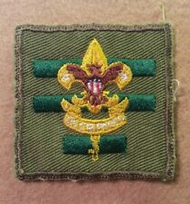 BSA - SENIOR PATROL LEADER POSITION PATCH - TYPE S6 1955-1964 PRE-OWNED  A00386