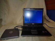 Dell Latitude D410 Pentium M 2.0GHZ 1GB RAM 80GB HDD + AC & EXTERNAL CDROM NO OS
