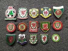 WALES Football Association Federation pin badge LOT