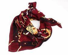 GUESS not Coordinated Scarf Sciarpa accessorio Brown Marrone Rosso Nuovo