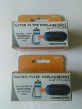 Outdoor Products 2 Portable Water Filtration Replacement Cartridges NIB