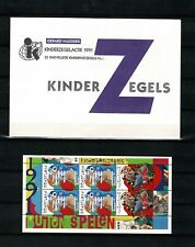 Netherlands, Child Welfare Stamp sheet (+surtax) IN ORIGINAL ENVELOPE, MNH, 1991