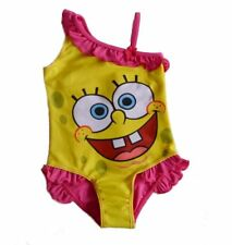 SPONGEBOB♥Nickelodeon♥COSTUME INTERO SWIMSUIT SWIMWEAR♥BIMBA GIRLS♥3 - 4 anni