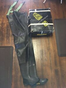 Lacrosse Men's Size 7 Yellowstone Chest Waders Brown