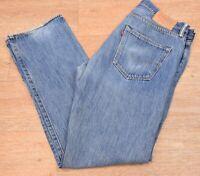 """vtg Levi's 501 Red Tab Denim Jeans - W34"""" x L32"""" #412"""