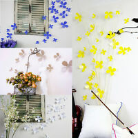 New 12pcs 3D Wall Sticker Stickers Beauty Flower Home Decor DIY Room Decoration