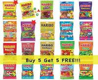 Haribo Gummy Chewy Sour Candy 4oz 5oz Buy 5 Get 5 Free