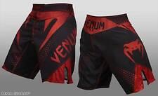 Venum Men's Amazonia Hurricane MMA Microfiber Shorts Red X-Large