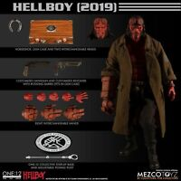 Mezco Hellboy (2019)  ONE:12 COLLECTIVE 6 inch action figure SHIPPING NOW!!!!!!