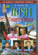 A FEAST OF IRISH COUNTRY MUSIC LIVE DVD 22 GREAT SONGS
