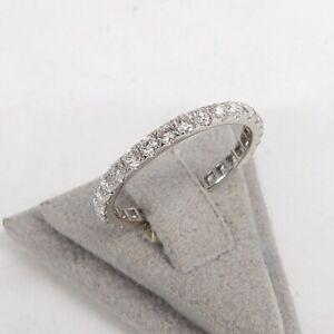 Wert 2080 € Brillant Memory Ring (1,05 carat) in 750er 18 K Wei��gold Größe 52