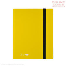 Ultra-Pro ECLIPSE Pro Binder YELLOW - Holds 360 Cards - With 20 x 9 Pocket Pages
