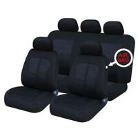 MAZDA BONGO FRONT & REAR CAR FULL SET SEAT COVERS CLOTH BLACK