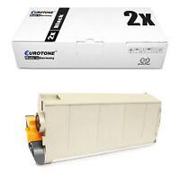 2x Eurotone Eco Toner Black for Oki C-711-DTN C-711-DM C-711-N C-711-CDTN