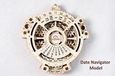 UGears Date Navigator Mechanical 3D Wood Puzzle