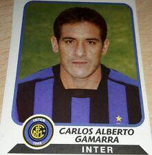 AGGIORNAMENTO FIGURINE CALCIATORI PANINI 2003/04 INTER GAMARRA ALBUM