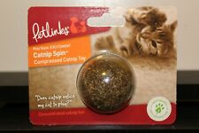 Petlinks Catnip Ball Compressed Concentrated Cat Nip Treat Toy Chemical Free New