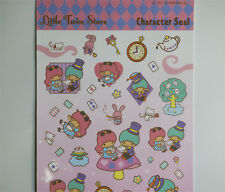 Japan Little Twin Stars Paper Decorative Sticker DIY Craft Diary Scrapbooking