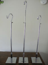 3 Retail Counter Top Display Rack Hook  Chrome Adjustable Height To 42
