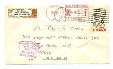 Vintage 1995 Seattle Wa Seaded Enevelope / Letter Used