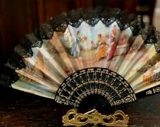 Vintage Hand Fan Made in Spain( Valencia) Print