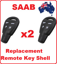 2 x 4 button smart Saab remote key shell case for SAAB 9-3 9-5 93 95 fob cover
