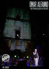 Omar Alfanno: De Panamá para el Mundo (DVD, 2014, 2-Disc Set, DVD/CD)