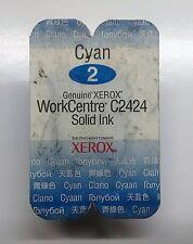 Original Xerox Solid Ink Nr.2 cyan 108R00660 WorkCentre C2424 -1 Stick