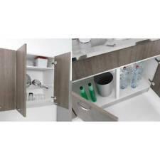 Sottolavello mobile per cucina lavello in inox 100x50 pieghevole