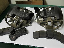 NASCAR AP 6 PISTON ROAD COURSE FRONT CALIPERS CP 5895-104/105 WITH PADS
