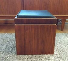 Vintage Mid-Century Lane Chess Game Table Stool Record Cabinet Danish Modern