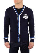 Tommy Hilfiger Para Hombre Cardigan Sweater Rick Azul Marino L