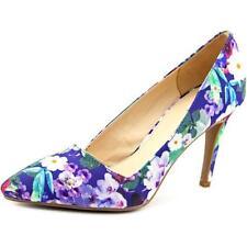Zapatos de tacón de mujer de tacón alto (más que 7,5 cm) de lona Talla 36.5
