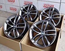 BBS SX platinum 4 Felgen 8x18 Zoll SX0106 für VW T5 + T6 Bus / Multivan mit ABE