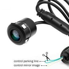 18.5mm Hole Car Vehicle Rearview Front Side View Rear View Camera W/Mirror Image