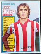 FOOTBALL PLAYER FOCUS JEFF CLARKE SUNDERLAND SHOOT
