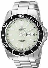 Orient Men's Mako XL Automatic Stainless Steel Diving Watch - FEM75005R9 NEW