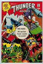 THUNDER AGENTS #19 8.5 WHITE PAGES SILVER AGE