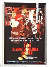 For a Few Dollars More Fridge Magnet (2 x 3 inches) movie poster clint eastwood