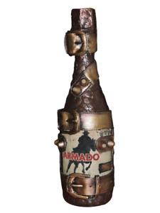 Decorative bottle for interior, decoupage.