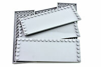 Light Bluish Gray Tile 6x16 w/ Studs on Edges - TCM Compatible Bricks -QTY:5 pcs