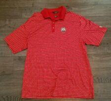 f3a941db NIKE TIGER WOODS Polo Mens 2XL XXL Red striped Walt disney world Golf Large  XL