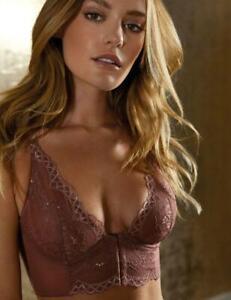 Gossard Superboost Lace Deep V Bralette Bra 7718 Womens Longline Bras