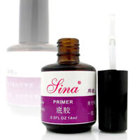 Professional Nail Art Primer Acrylic UV Gel Base Coat Gel Polish Tips Tool 14ml