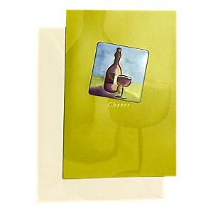 Wedding Greeting Card for Loved Ones, Family and Friends - Cheers - Deluxe,Remov