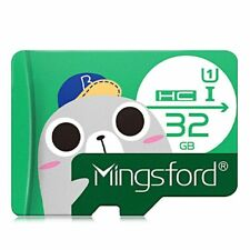32 GB Memory Card Class 10 micro SD  Mingsford  Green